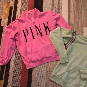 Pink VS zip ups